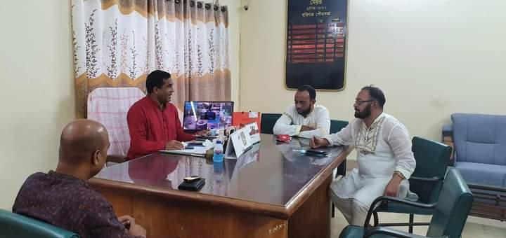 হবিগঞ্জ রেডক্রিসেন্ট ইউনিটের সাথে সিলেট ইউনিটের সাক্ষাৎ